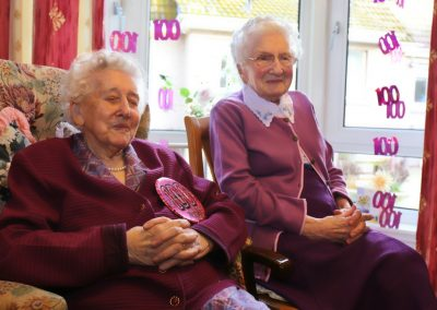 Lottie -100 & Mary - 98