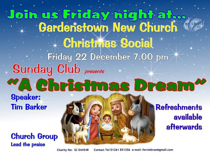 Gardenstown New Church Christmas Social