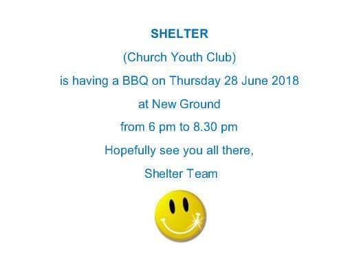 Shelter barbecue on Thursday 28th June at the New Ground, Gardenstown.
