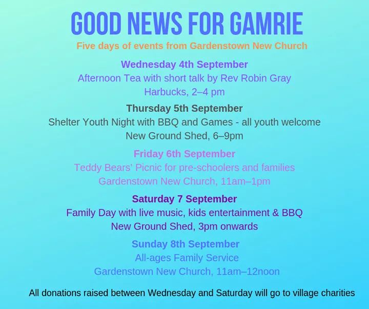 Good News for Gamrie